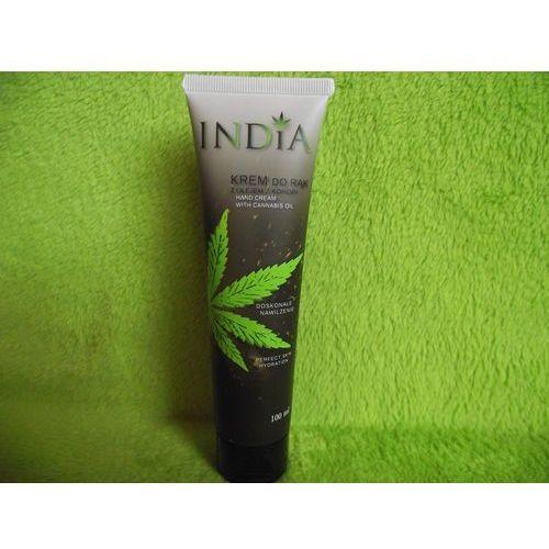 cosmetics- krem do rąk ochronny z olejem z konopi 100ml marki India