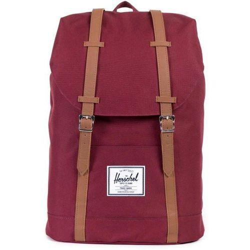 Herschel retreat plecak czerwony 2018 plecaki szkolne i turystyczne (0828432065288)