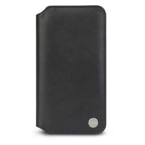 Moshi Overture Etui Z Kieszenią Na Karty iPhone Xs Max (Charcoal Black), kolor czarny