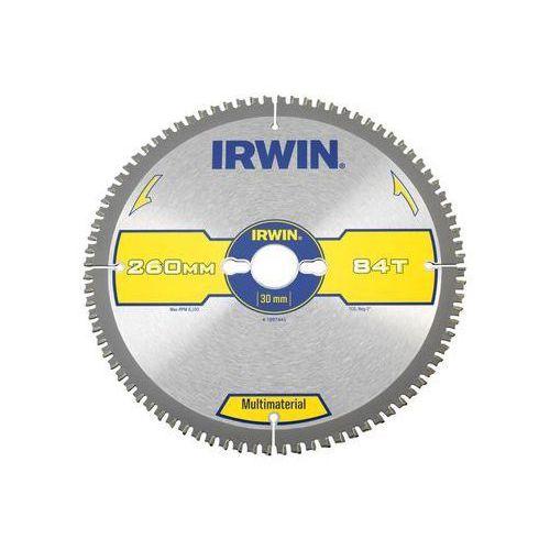 Irwin multimaterial Tarcza do pilarki tarczowej 260mm/84t/30 śr. 260 mm 84 z