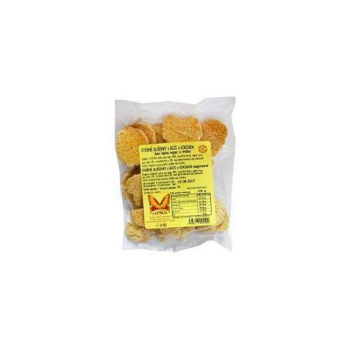 Natural Ciasteczka owsiane z goji i kokosem bezglutenowe 150 g (8595617902400)