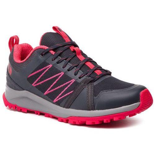 Trekkingi - litewave fastpack ii t93regc3c ebony grey/atomic pink marki The north face