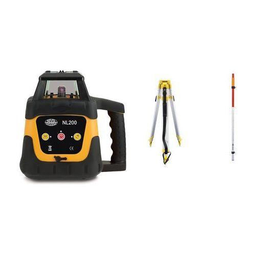 Nivel system Niwelator laserowy nl200 (+ statyw + łata)