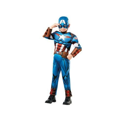 Kostium Kapitan Ameryka Deluxe dla chłopca - Roz. S
