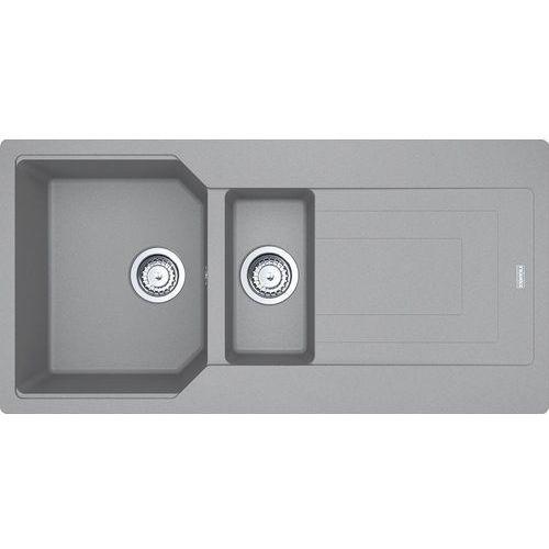 Zlewozmywak FRANKE URBAN UBG 651-100 kamienny szary [114.0575.052], UBG 651-100 KS