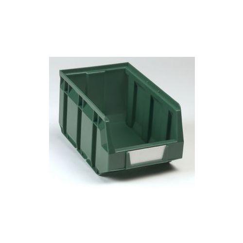 Otwarty pojemnik magazynowy z polietylenu,dł. x szer. x wys. 237 x 144 x 123 mm