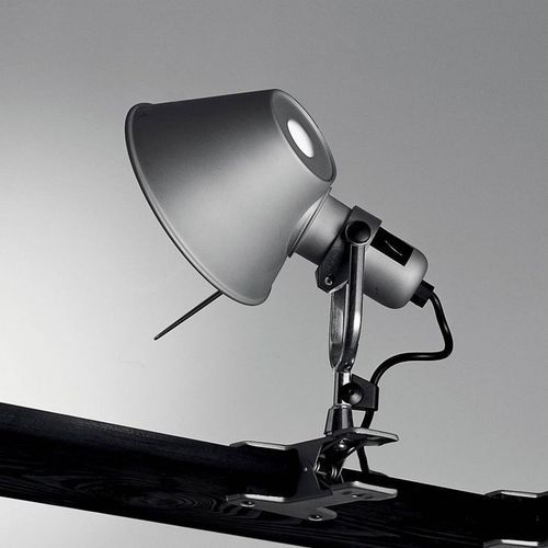 TOLOMEO - Lampa z zaciskiem Micro Srebrny