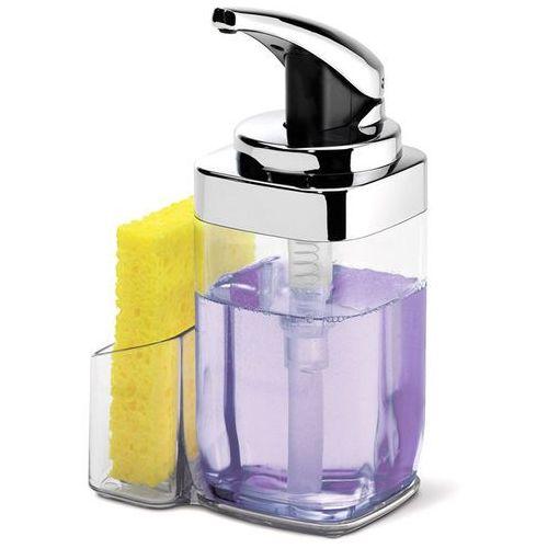 Dozownik do mydła z pojemnikiem na gąbkę (kt1159) marki Simplehuman