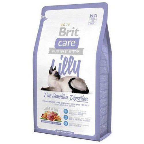Brit  care cat new lilly i've sensitive digestion lamb & salmon 400g (8595602505593)