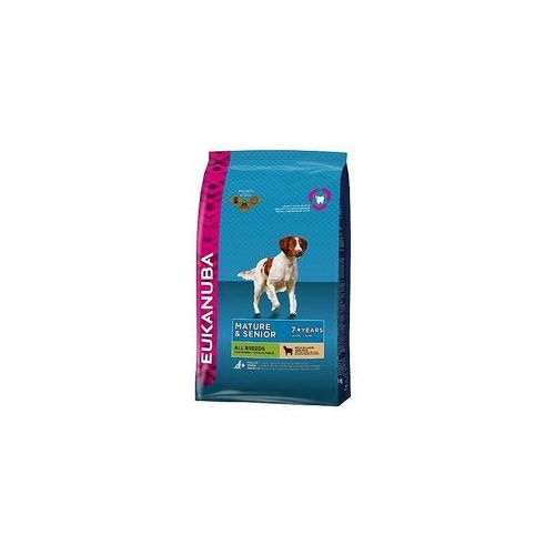 mature & senior 7+ all breeds lamb & rice maintenance 12kg - 12kg marki Eukanuba