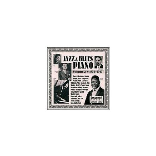 Document records Jazz & blues piano 2 - 24t