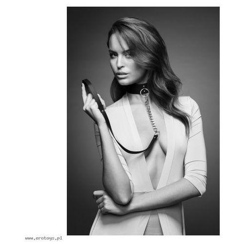Bijoux Indiscrets - MAZE Wide Choker & Leash Brown (8436562011123)