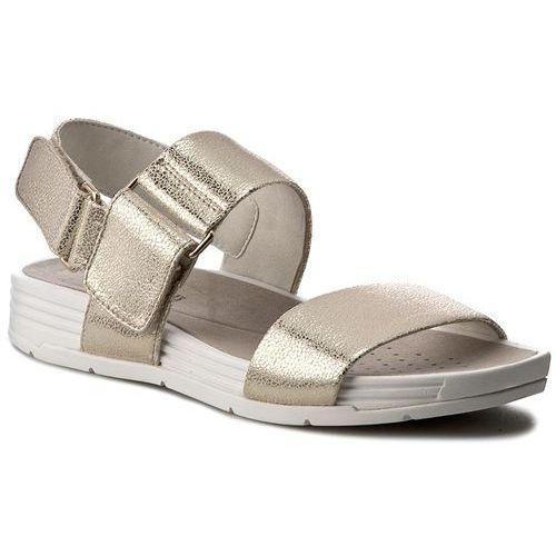 Sandały GEOX - D Koleos A D725PA 000BL C2012 Jasny Złoty