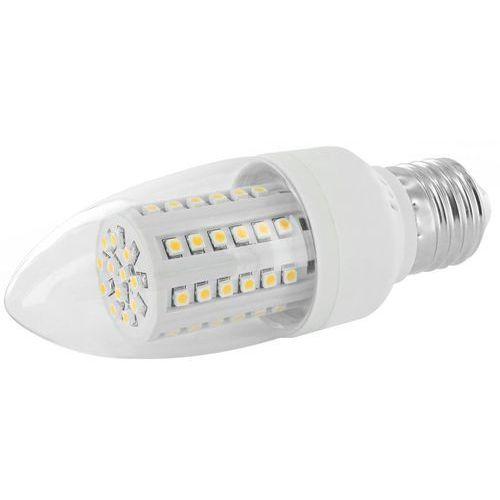 LED ŚWIECZKA WHITENERGY C35,60SMD 3528,E27,3W,230V,CIEPŁA BIAŁA (5908214339907)