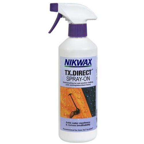 Nikwax Impregnat do odzieży przeciwdeszczowej  - tx.direct® spray-on 300 ml.