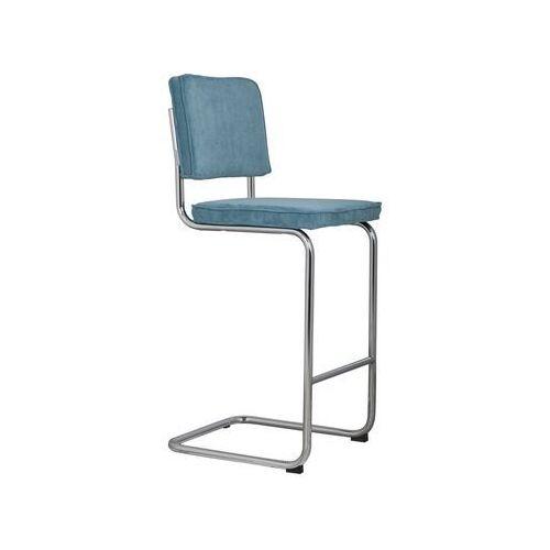 stołek barowy ridge rib niebieski 12a 1500206 marki Zuiver