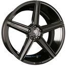 kv1 schwarz glanz - schwarz glänzend lackiert einteilig 8.50 x 19 et 43 marki Mb-design