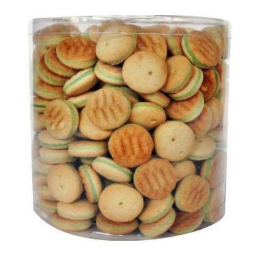 Prozoo Animale ciasteczka okrągłe z zielonym nadzieniem 1,2kg