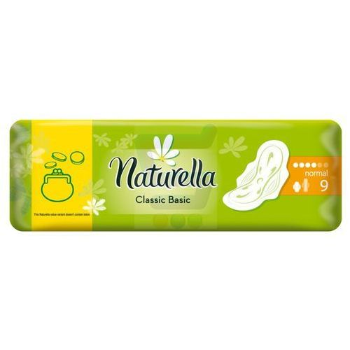 Naturella Classic Basic Podpaski Normal 9 szt.