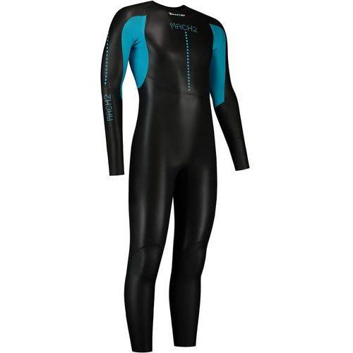 Dare2Tri MACH2SCS Mężczyźni niebieski/czarny MT 2018 Pianki do pływania (8718858564590)