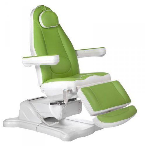 Elektryczny fotel kosmetyczny mazaro br-6672 zielony marki Vanity_b