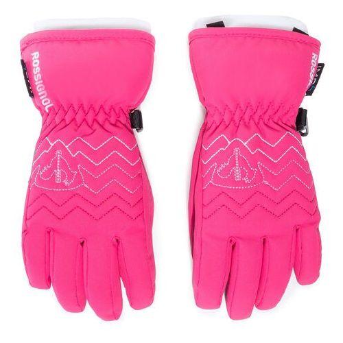 Rękawice narciarskie - popy impr g rliyg07 pink fuhsia 374 marki Rossignol