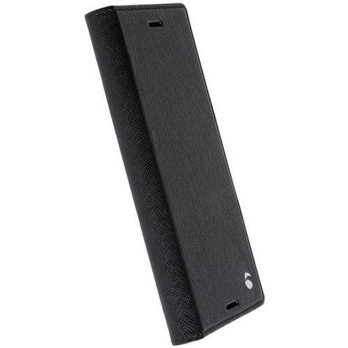 Krusell  malmo 4 card foliocase - etui sony xperia xz premium z kieszeniami na karty + stand up (czarny)