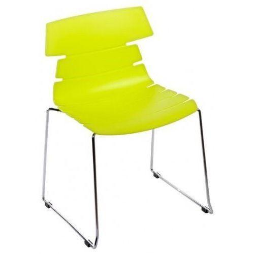 Krzesło Techno SL - zielony, kolor zielony