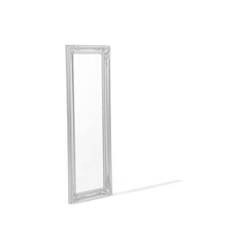 Beliani Lustro ścienne srebrne 51 x 141 cm bellac - OKAZJE