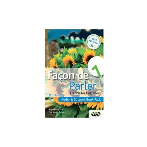 Facon De Parler 1 French for Beginners: Audio & Support Book Pack (60 str.)