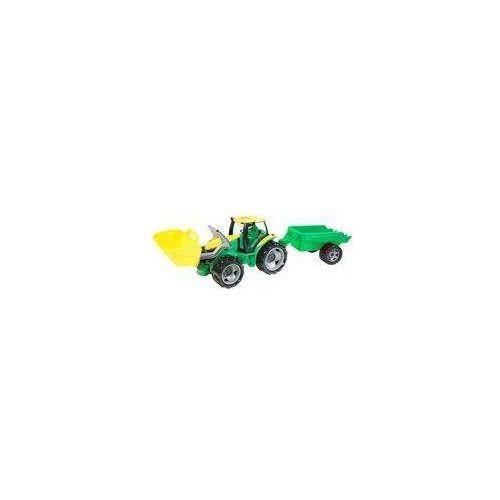 Zabawka LENA Ciągnik z łyżką i przyczepką 62 cm + DARMOWY TRANSPORT! (4006942811403)