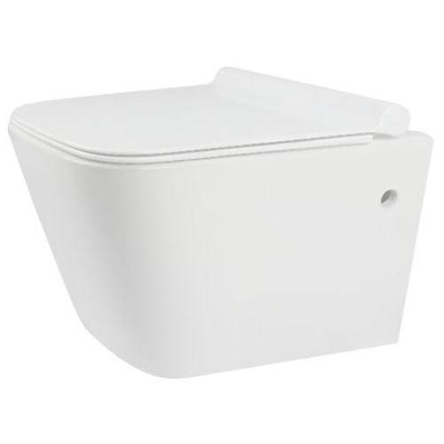 Miska wisząca WC bezkołnierzowa, Ryan Rimless Slim Rea ✖️AUTORYZOWANY DYSTRYBUTOR✖️ (5902557326198)