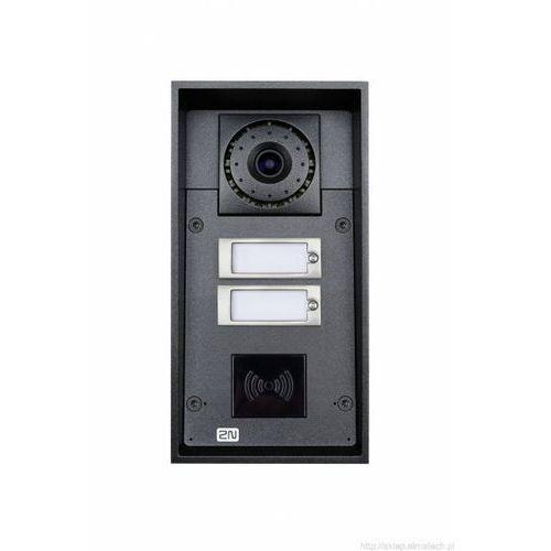 2N Helios IP Force Domofon dwuprzyciskowy, kamera, możliwość RFID, 9151102CRW