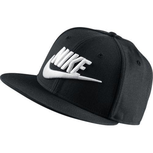 Czapka Nike Futura True Snapback - 584169-010 - Black/White, kolor czarny
