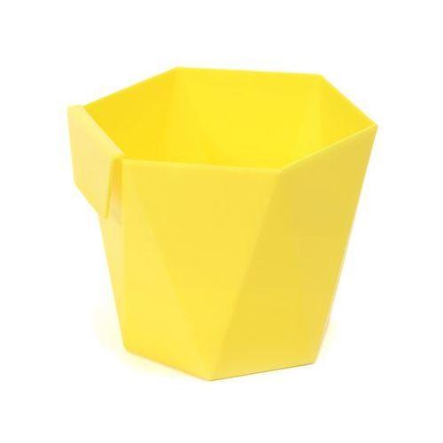 Lamela Osłonka plastikowa 11 cm żółta heca