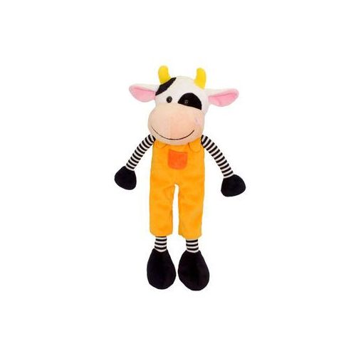 Maskotka krówka pomarańczowa Funny 20 cm 11346 - Beppe, 5_521993