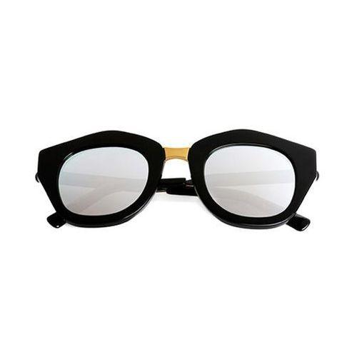 Spektre Okulary słoneczne mon amour ma01g/black/black/gold (silver mirror)