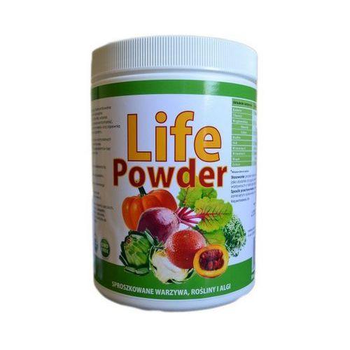 Lifepowder mix sproszkowanych warzyw, roślin i alg 420g, marki Kenay ag