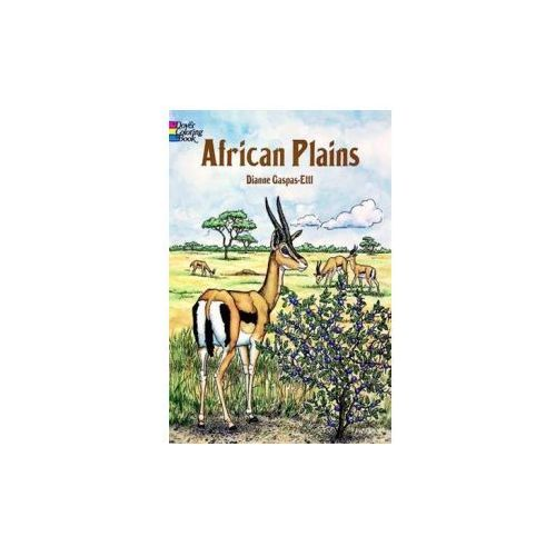 African Plains Coloring Book (9780486292304)