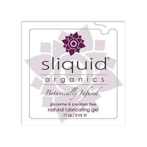 Sliquid Naturalny żel nawilżający - organics natural gel pillow 5 ml saszetka