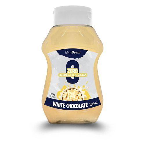 syrop bez kalorii o smaku białej czekolady 350 ml marki Gymbeam