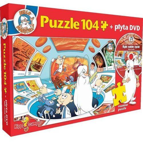 Było sobie życie. centrum dowodzenia puzzle + dvd marki Hippocampus