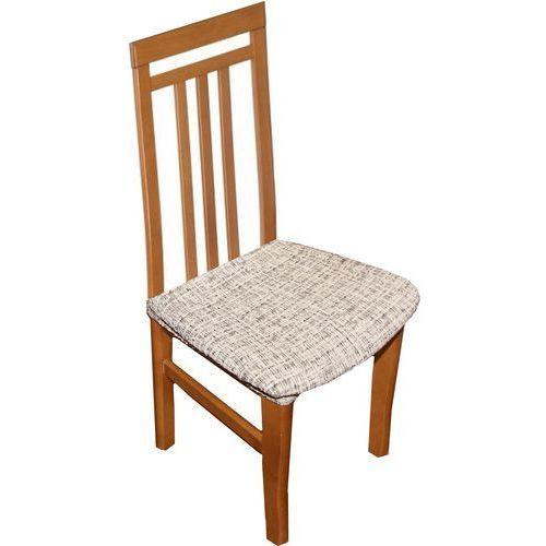 Luksusowe okrycie siedzisk krzeseł andrea, biało-czarne, zestaw 2 szt. marki 4home