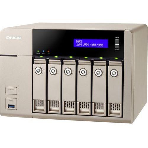 QNAP TVS-663-8G - AMD GX-424CC / 8 GB / 2 x HDMI / 2 x Gigabit LAN / 6-dyskowy