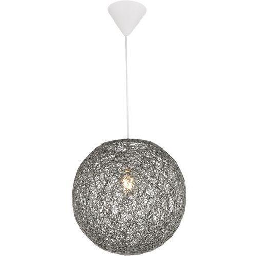 Lampa wisząca Globo Coropuna 15252G lampa sufitowa zwis 1x60W E27 biała / szara, 15252G