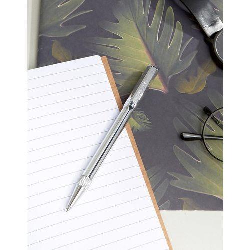Ted Baker Silver Ballpoint Twist Pen In Gift Box - Silver - sprawdź w wybranym sklepie