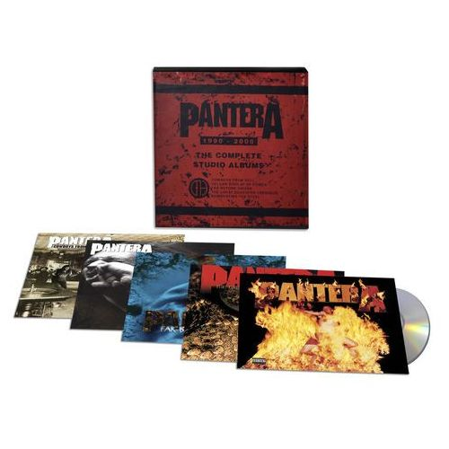 The complete studio albums 1990-2000 - pantera (płyta cd) marki Warner music