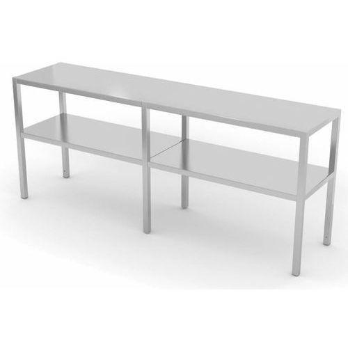 Polgast Nadstawka na stół dwupoziomowa   szer: 1500-1900 mm   gł: 300 mm