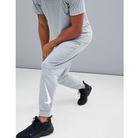 Nike Training Tapered Fleece Joggers In Grey 932245-063 - Grey