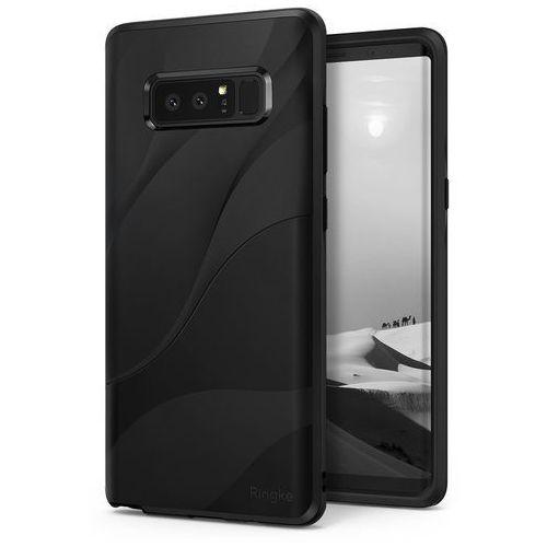 Etui Ringke Wave Samsung Galaxy Note 8 Charcoal Black, kolor czarny